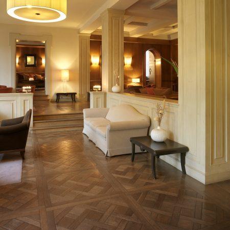 Parquet a cera Grand Hotel Villa Medici